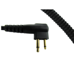 CC0100 Coil Cord for Motorola 2-Pin