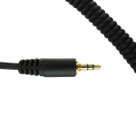 CC0120- Coil Cord for Motorola Single Pin 3.5mm