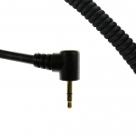 CC0302- Coil Cord for Motorola & Titan Radio Single Pin 2.5mm