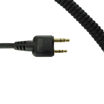 CC0315- Coil Cord for Icom Straight Plug