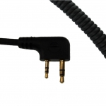 CC0326 Coil Cord for Icom / Maxon with Reverse 90 Degree Pin