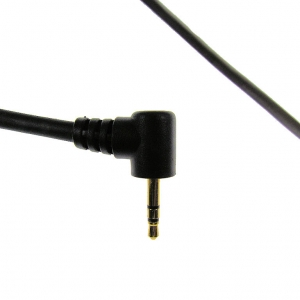 "PT0462- 6"" Radio Pigtail for Motorola Single Pin 2.5mm"